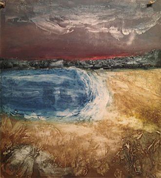 "Mary Ann Wenniger - ""Cove"" © collagraph."
