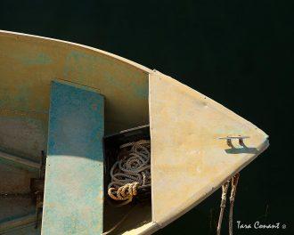 "Tara Conant - ""Yellow Boat"" photograph ©."