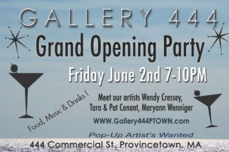 Gallery 444 PTown Grand Opening Party