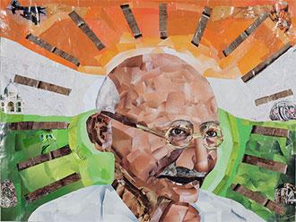 """Gandhi"" © John Williams."