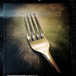"""Robert Aller """"Fork"""" © photograph."""