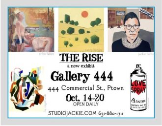 "Jackie Fuchs ""The Rise"" - Returning Artist @ Gallery 444 